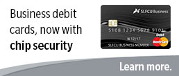 Business debit cards, now with chip security