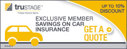 Exclusive Member Savings on TruStage Car Insurance