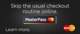 Skip the usual checkout routine with MasterPass.