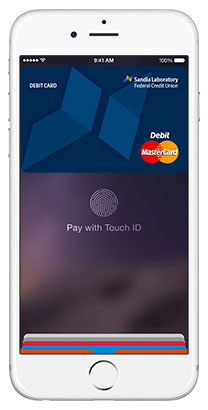 Apple Pay with SLFCU debit card
