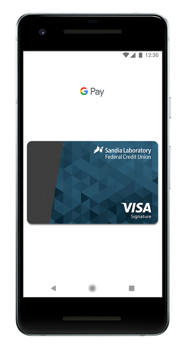 Google Pay with SLFCU Visa card